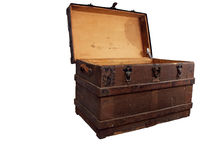 Antique chest 1 Royalty Free Stock Photos