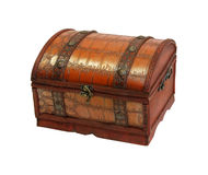 Antique chest Stock Image