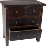 Antique chest 2 Royalty Free Stock Images