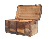 Antique chest Royalty Free Stock Photo