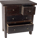 Antique chest 3 Royalty Free Stock Photo