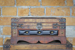Antique chests Royalty Free Stock Image