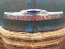 Antique Chevrolet truck grill stock photos