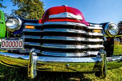 1951 Antique chevy pick-up truck royalty free stock image