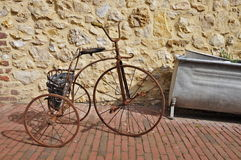 Antique Children's Tricycle Stock Images