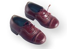 Antique childrens shoes Stock Image