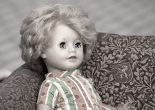 Antique Childs Doll Royalty Free Stock Image