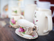 Antique china Royalty Free Stock Photos