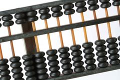 Antique Chinese Abacus Stock Photography