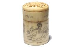 Antique chinese box Stock Image