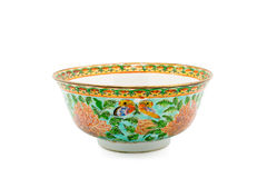 Antique Chinese Ceramic bowl, Museum quality Royalty Free Stock Photo