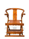 Antique Chinese Folding Chair. Royalty Free Stock Photography