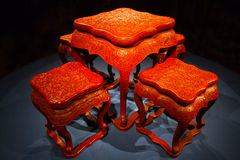 Antique Chinese furniture Stock Photos