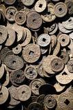 Antique chinese money Stock Photos