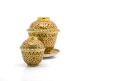 Antique Chinese tea bowl Royalty Free Stock Photos