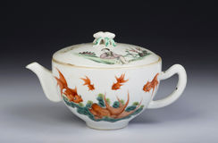 Antique Chinese teapot. Stock Images