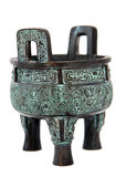 Antique chinese vessel Royalty Free Stock Images