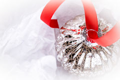 Antique Christmas bauble Stock Photography
