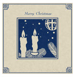Antique Christmas Card Royalty Free Stock Photo