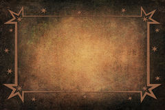 Antique Christmas Frame on Background With Texture Royalty Free Stock Images