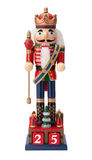 Antique Christmas Nutcracker Monarch Stock Image