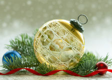 Antique Christmas Ornament Stock Images