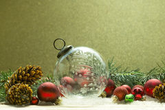 Antique Christmas Ornament Royalty Free Stock Photos