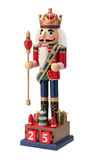 Antique Christmas Royal Nutcracker Royalty Free Stock Photo