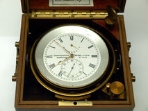 Antique chronometer Royalty Free Stock Photo