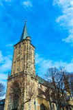 Antique church building Royalty Free Stock Photography