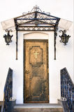 Antique church door Stock Image