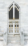 Antique church door Royalty Free Stock Photography