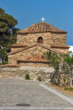Antique Church of Panagia Ekatontapiliani in Parikia, Paros island, Greece Royalty Free Stock Images