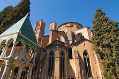 Church of S. Francesco in Bologna Royalty Free Stock Images