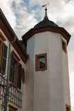 Antique church tower. Seligestadt Rhein Main Royalty Free Stock Image