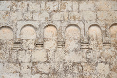 Antique Church wall element. Antique Church sone wall element Royalty Free Stock Photos
