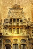 Antique city building in Europe Royalty Free Stock Image