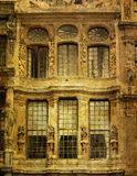 Antique city building in Europe Stock Images