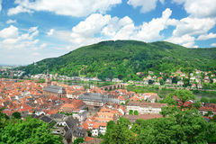 Antique city of Heidelberg. Stock Image