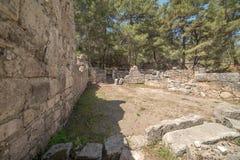 Antique city of Phaselis, Antalya Destrict, Turkey Stock Photos