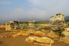 Antique city ruins royalty free stock photography