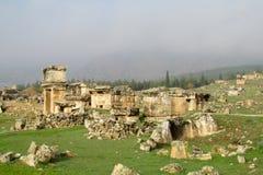 Antique city ruins stock photos