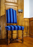 Antique classic style chair produced from natural wood Royalty Free Stock Image