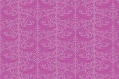 Antique classical wallpaper. Purple color antique wallpaper as a background Vector Illustration