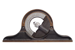 Antique clinometer Stock Photos