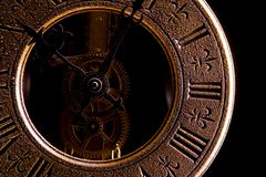 Antique clock Royalty Free Stock Photography
