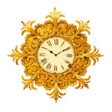 Antique clock Stock Photography