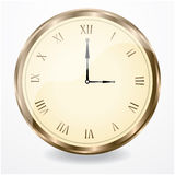 Antique clock. For your website Stock Images