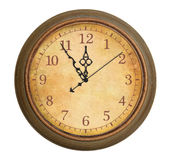 Antique clock Royalty Free Stock Image