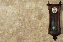 Antique clock background Royalty Free Stock Images